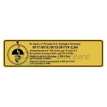 Point allumage 911T / E / S / TV - 2.34