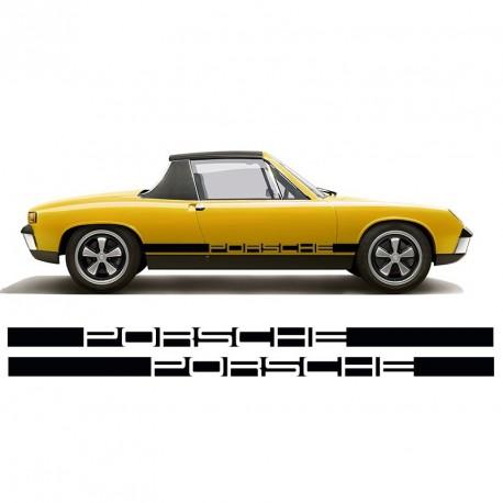 Bande latérale Porsche inversée