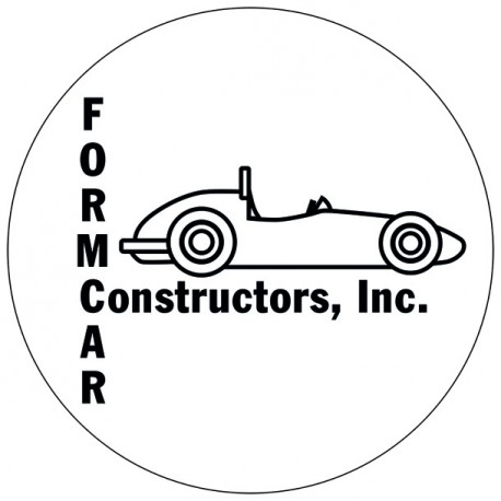 Kit 2 stickers Formcar rond