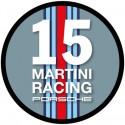 Martini round sticker 15