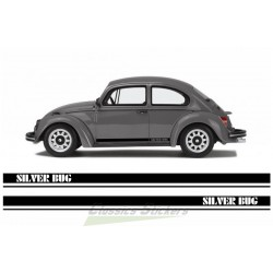 VW Silver Bug Sticker