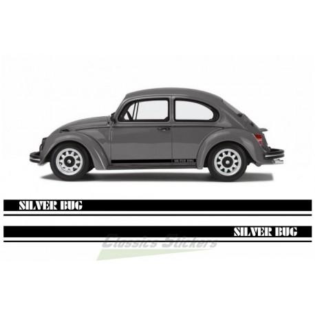 VW Silver Bug Sticker