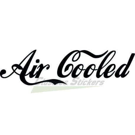 Lettrage Air Cooled