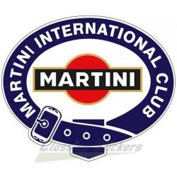 Club Martini sticker