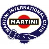 Club Martini sticker