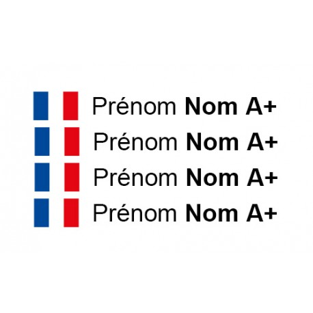 Kit Prénom Nom