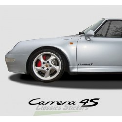 Lettrage Carrera 4S