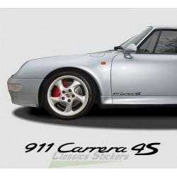 Lettrage 911 Carrera 4S