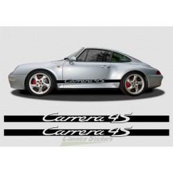 Carrera 4S side strips
