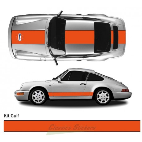 Kit décoration Gulf