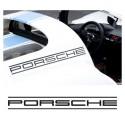 Porsche lettering