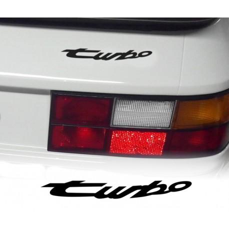 Lettrage turbo