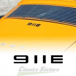 911 E sticker