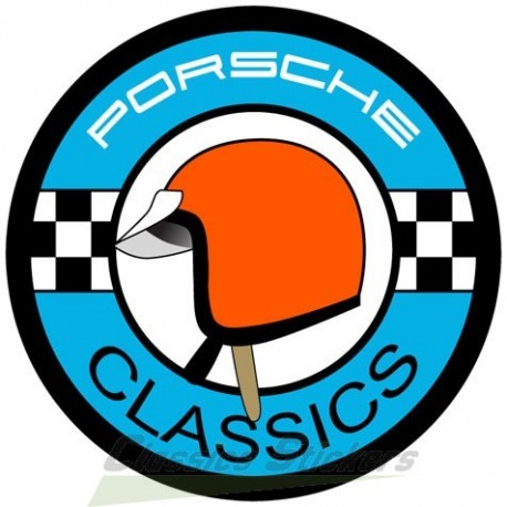 Porsche Classic - Red Helmet