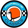 Porsche Classic - Orange Helmet