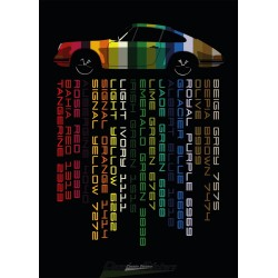 Poster - 914 colors