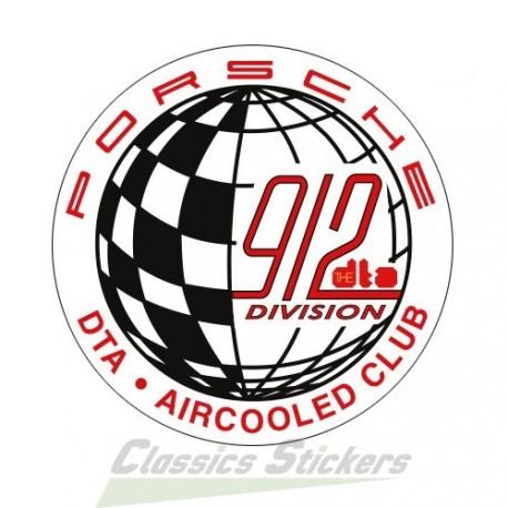 Autocollant 912 DTA Weltmesieter