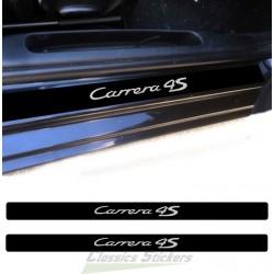 Door step Carrera 4S