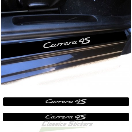 Seuils de porte Carrera 4S
