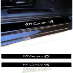 Door step 911 Carrera 4S