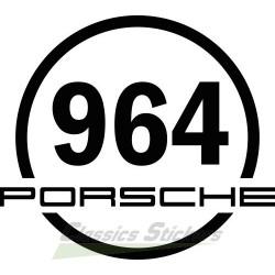 Round sticker 964