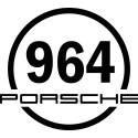 Sticker rond 964