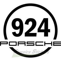 Sticker rond 924