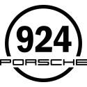 Round sticker 924