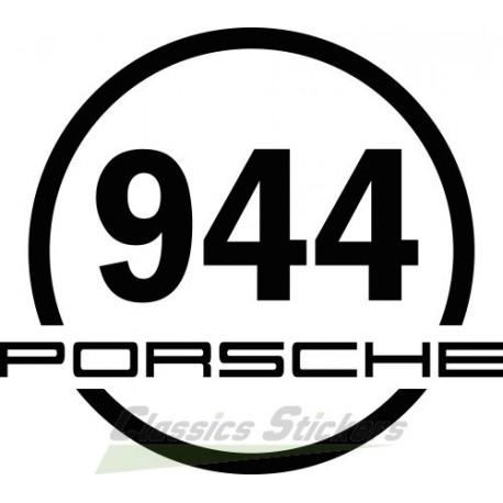 Round sticker 944