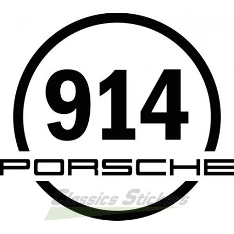 Sticker rond 914