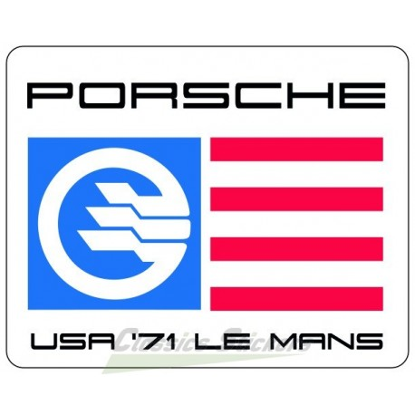 Sticker Ginther 71 Le Mans