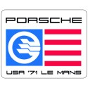 Ginther Le Mans sticker 71