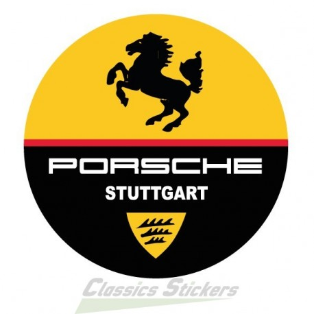 Stuttgart round badge