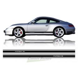 Porsche cut side stripes