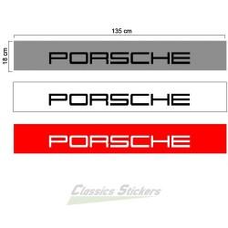 Bandeau pare soleil Porsche 2