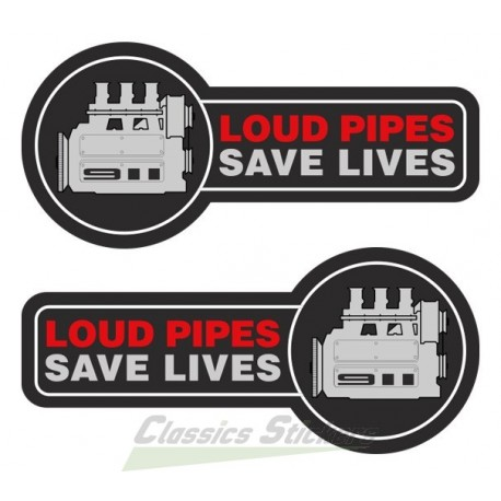Loud pipes Save Lives