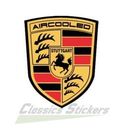 Sticker Porsche Aircooled