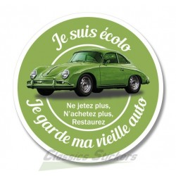 I keep my old 356 car