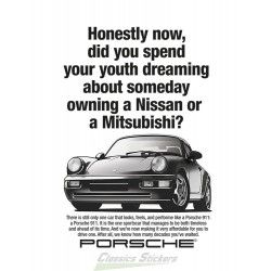 911 advertising poster GB version