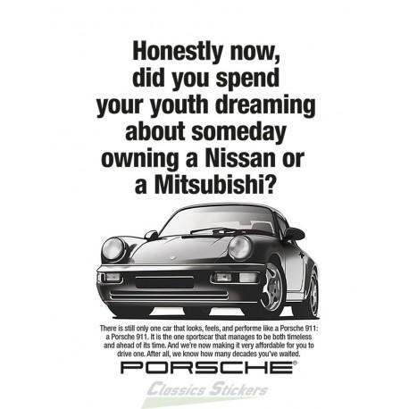 Affiche publicité 964 - originelle