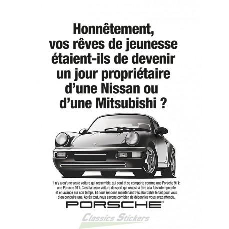 Affiche publicitaire 911 version FR