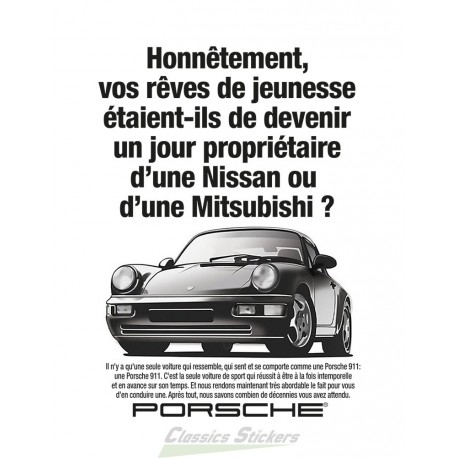 911 advertising poster french version