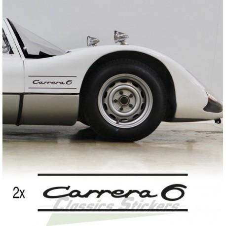 Lettrage Carrera 6