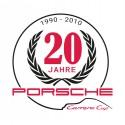 Sticker Carrera Cup 20 jahre