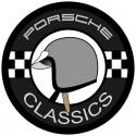 Porsche Classic casque gris