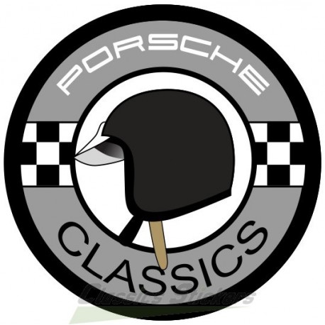 Porsche Classic casque gris foncé