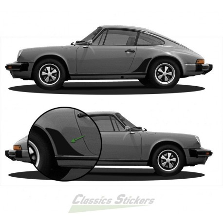 Gravel protection for 911