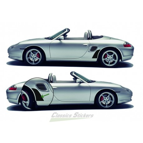 Gravel protection for Boxster
