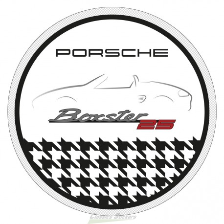 25 years Boxster badge