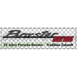 25 years boxster logo
